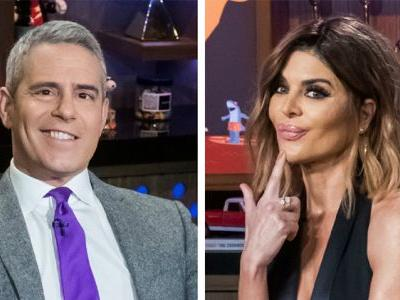 Lisa Rinna Upset Andy Cohen With Her 'RHOBH' Rant: 'She's Gone Too Far,' Source Claims