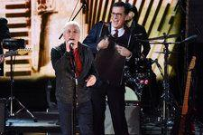 Paul Simon Performs 'That Was Your Mother,' With Stephen Colbert On Washboard: Watch