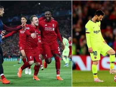 Liverpool FC mounts stunning, 4-goal comeback to dump Lionel Messi and FC Barcelona out of the Champions League for good, advancing to the final