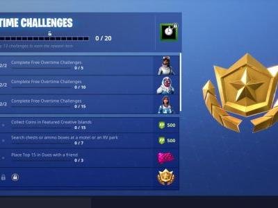 Fortnite Overtime Challenges: Get Free Season 8 Battle Pass By Doing These