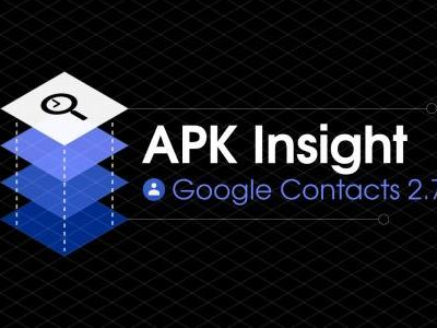 Google Contacts 2.7 preps multi-person widget and 'Suggested name' feature