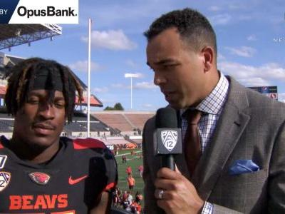 Artavis Pierce on start at running back for OSU: 'I always prepare myself to come in and do great'