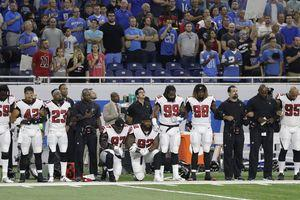 The breakdown of the players who protested during the anthem