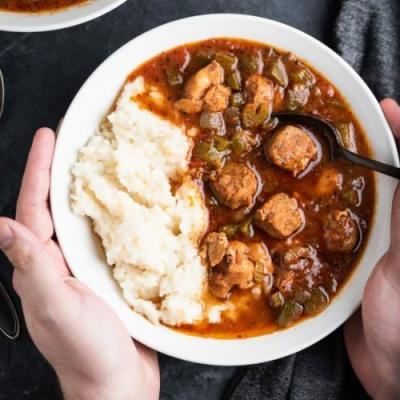 Whole30 Slow Cooker Gumbo