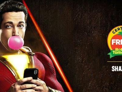 Shazam! Is Officially Certified Fresh on Rotten Tomatoes