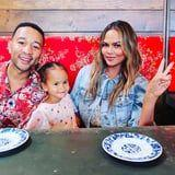 Chrissy Teigen's Daughter Just Turned 3 and Can Paint Nails Better Than You Can