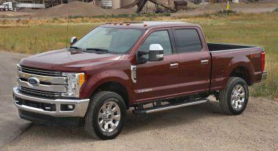 2017 Ford Super Duty Gets Five Stars From The NHTSA