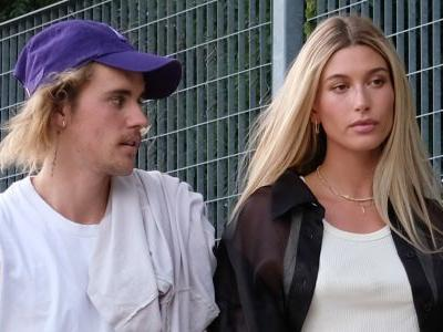 The Video Of Hailey Baldwin Eating Pig Jelly Over Ranking Justin Bieber's Looks Is Gross