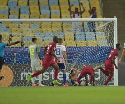 Qatar hit back to snatch Paraguay draw in Copa America debut