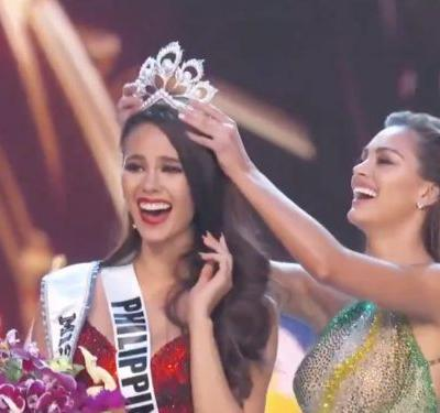 A new Miss Universe has been named - watch the crowning moment