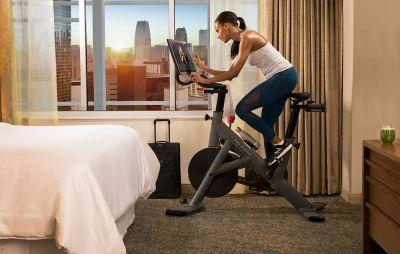 ​Peloton and Westin Are Teaming Up to Help America's Traveling Fitness Fanatics