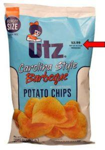 Widely distributed potato chips recalled for undeclared soy