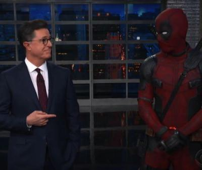 Deadpool crashed Colbert's monologue and perfectly trolled 'Avengers: Infinity War'