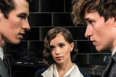 New Fantastic Beasts 2 Peek Reveals Newt's Brother and a