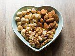 Eating a handful of almonds, hazelnuts and walnuts every day boosts men's sperm production