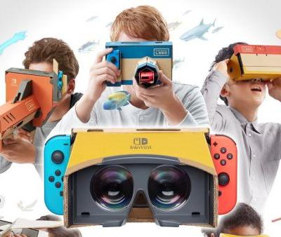 Nintendo just stealth announced a Labo VR kit
