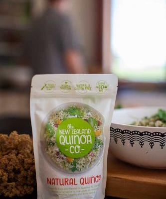 Be in to win one of four double packs of quinoa by New Zealand Quinoa Company, valued at $16