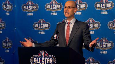 In politically charged time, NBA commissioner Silver not turtling