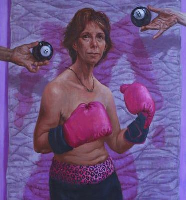Boxing with Sandy