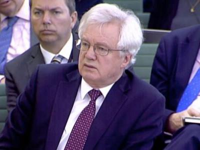 David Davis says the UK could delay Brexit to avoid a crashing out with no deal
