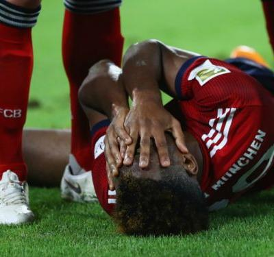 Coman sidelined 'several weeks' with ankle ligament tear