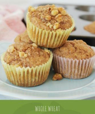 Whole Wheat Applesauce Muffins Recipe
