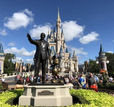 There are old-school telephones all over Disney World that are both useful and free
