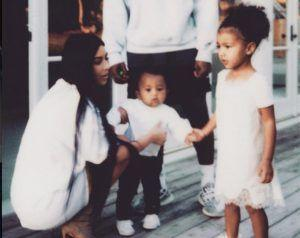 People Aren't Convinced By Kim Kardashian's Edgy New Family Shoot On Instagram
