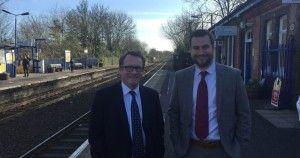 MP Chris White welcomes lift-off on scheme to improve access at Warwick station