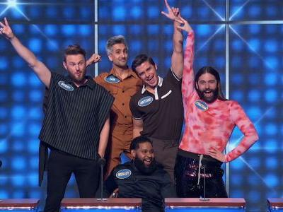 This Video Of The 'Queer Eye' Casts On 'Celebrity Family Feud' Is So Fun