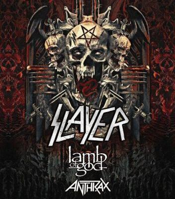 SLAYER Announces North American Tour Dates With LAMB OF GOD, ANTHRAX, BEHEMOTH, TESTAMENT: BLABBERMOUTH Presale