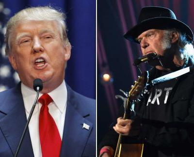 Neil Young says he's 'not OK' with President Trump playing his music at Mount Rushmore event