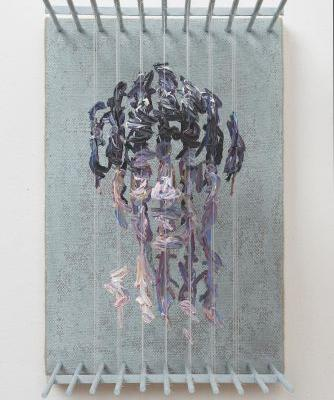Three-Dimensional Portraits of Suspended Paint Strokes by Chris Dorosz