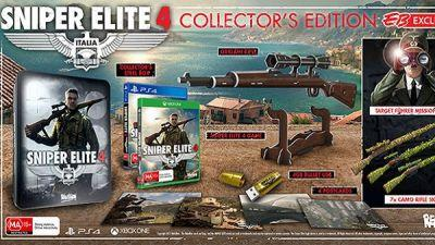 Sniper Elite 4 Collector's Edition Announced By EB Games