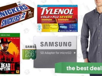 Sunday's Best Deals: MicroSD Cards, Red Dead Redemption 2, Cold Medicine, and More