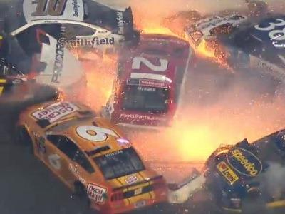 18 Cars And 11 Trucks Wiped Out In 2 Astonishing Daytona 500 Pile-Ups