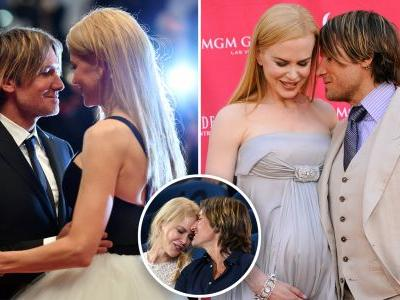 Nicole Kidman and Keith Urban's Most PDA-Packed Moments Prove That True Love Exists