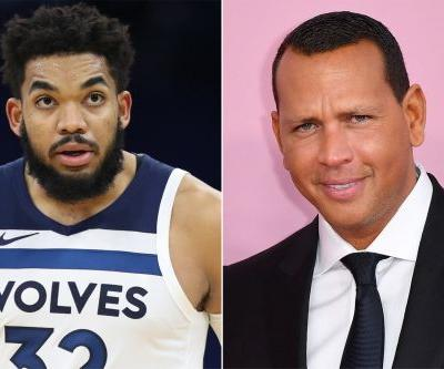 Karl-Anthony Towns' wild Alex Rodriguez-Mom-Walmart tale comes full circle