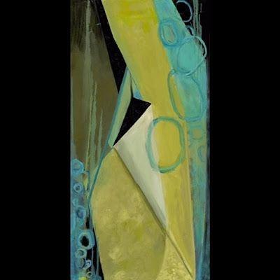 """Abstract Art, Expressionism, Contemporary Oil Painting """"Fusion"""" by Contemporary Artist Maggie Demarco"""
