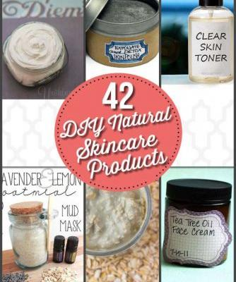 42 DIY Natural Skincare Products