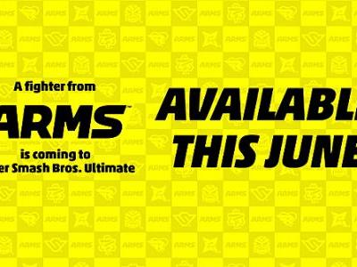 Smash Bros. Ultimate's next DLC fighter will be from ARMS, and will release in June 2020