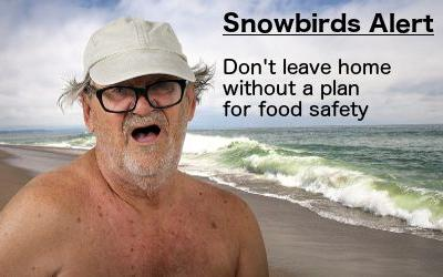 There's snow place like home, unless you're an RV snowbird