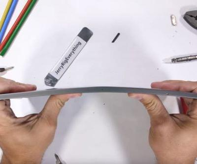 Will the new iPad Pro survive a bend test?