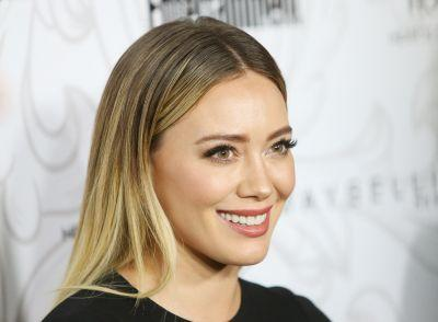 Hilary Duff Just Went Icy Blond - and It Looks Absolutely Amazing