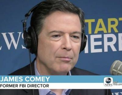 Comey Says He No Longer Considers Himself a Republican: 'They've Lost Their Way'