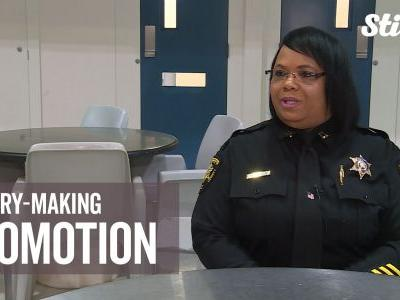First African-American woman promoted to 170-year-old sheriff's office