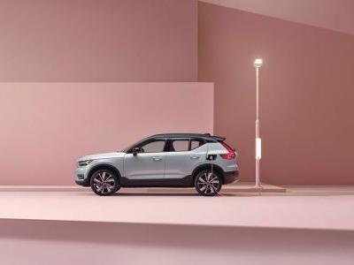 Volvo's XC40 Recharge Is The Company's First Full-Electric Vehicle