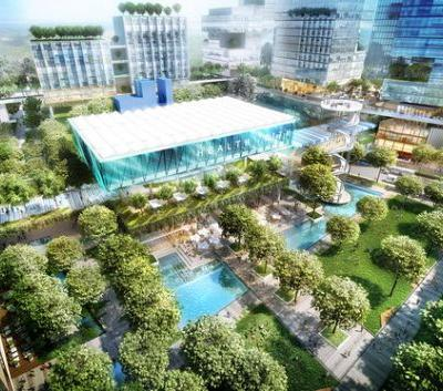 "Broadway Malyan to Design an Expansive ""Health City"" in Brisbane"