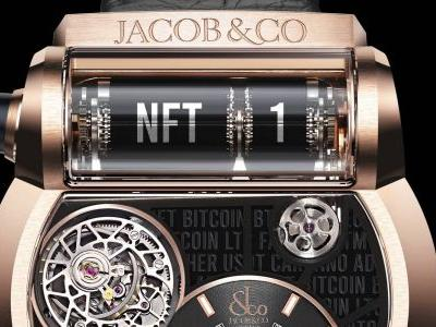 NFT Jacob & Co. Watch Sells for $100K at Crypto Currency Auction
