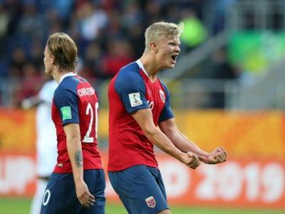Norway's Haland scores record 9 in U20 WC win